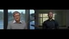 Steph Curry le hace una entrevista de trabajo a Bill Gates