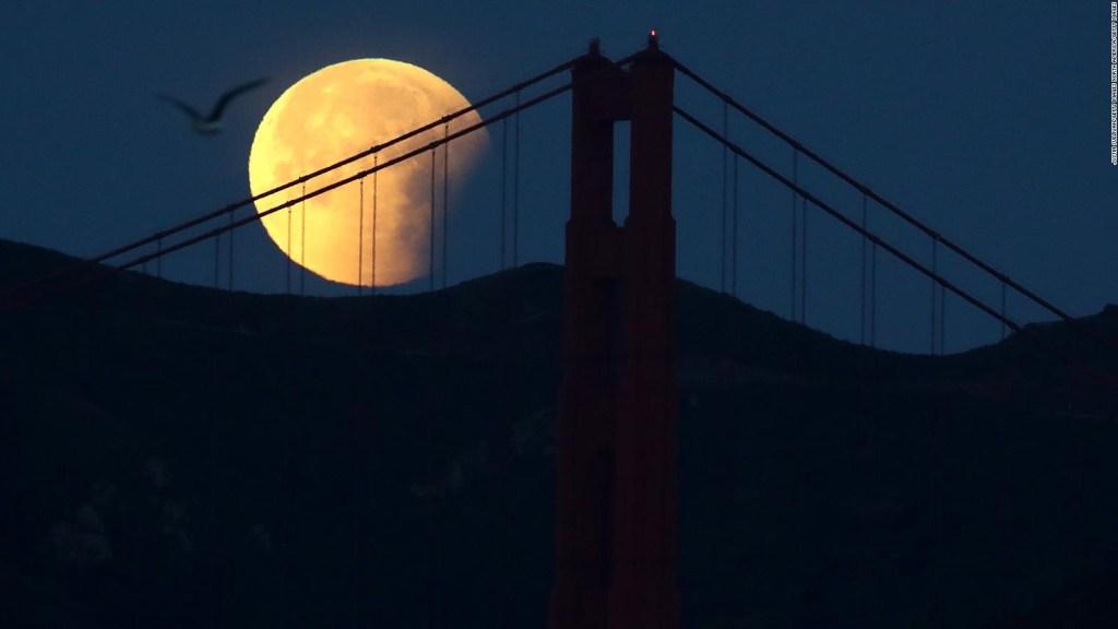 Una luna azul iluminará la noche de Halloween
