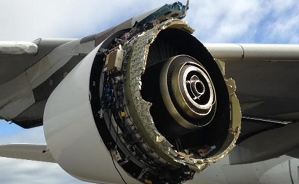 Hallan congelada parte de un avión perdida desde 2017