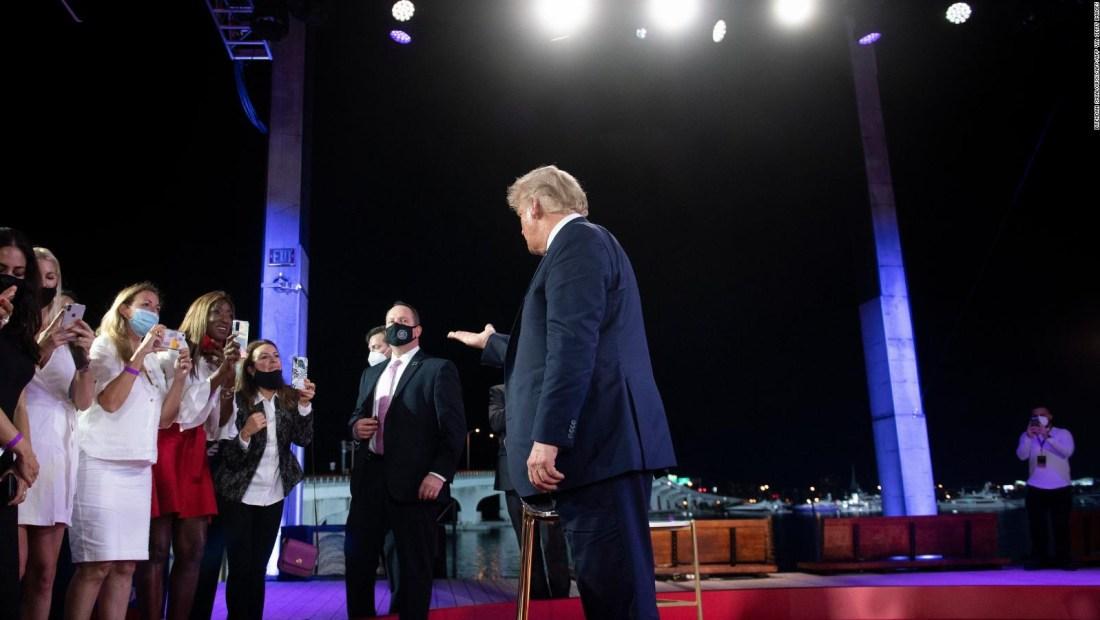 Lo que respondió Trump en el foro presidencial en Miami