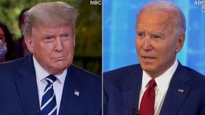Biden aventaja a Trump por 11 puntos, según promedio de sondeos