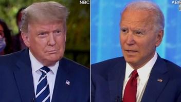 Las claves de los foros de Trump y Biden