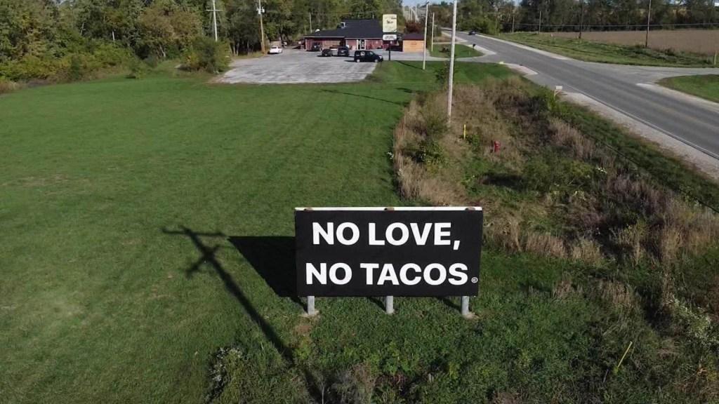 """""""Sin amor no hay tacos"""": conoce este caso de activismo"""
