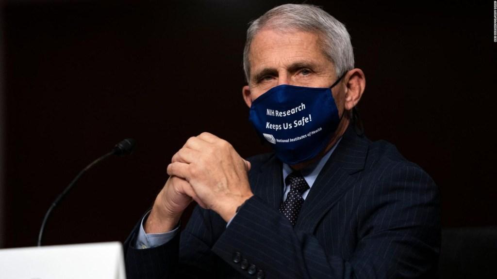 Fauci: EE.UU. va en la dirección equivocada con el covid-19
