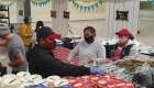Familias hispanas reciben donaciones para sobrevivir al covid-19