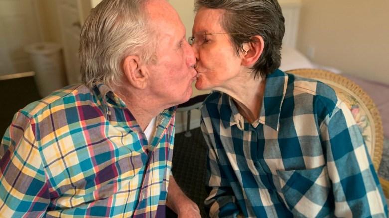 Esta pareja se reencuentra después de 7 meses separados