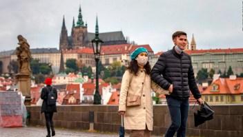 República Checa enfrenta la segunda ola de covid-19