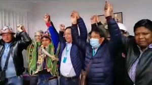 ¿Se queda en Bolivia el ministro Arturo Murillo?