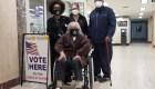 Mujer de 94 años viaja casi 1.000 kilómetros para votar
