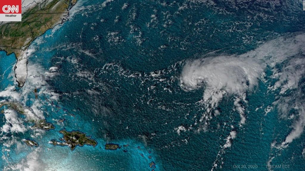 Posible huracán amenaza a las islas Bermudas