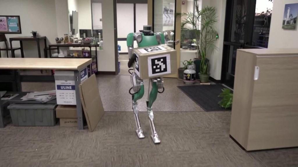 Digit, un robot para tareas logísticas