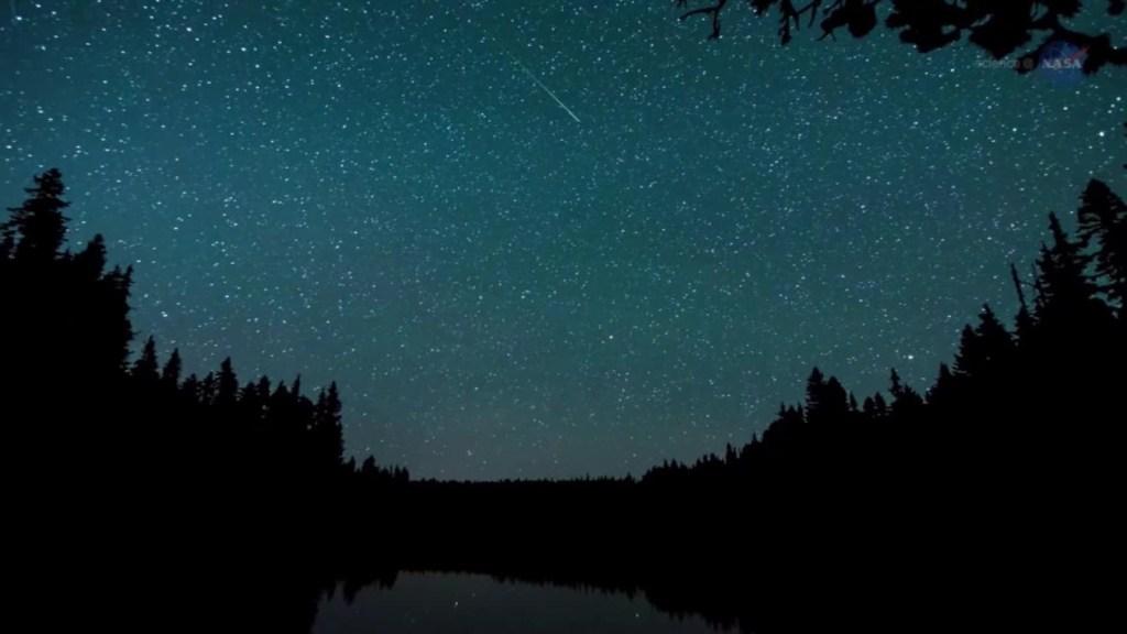 Lluvia de meteoros alcanza su punto máximo esta semana