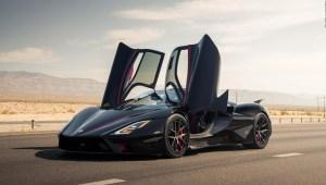 Este auto rompió el récord mundial de velocidad