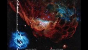 """La NASA comparte la sorprendente """"música"""" del cosmos"""