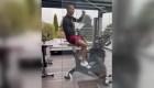 Cristiano Ronaldo entrena con un nuevo estilo