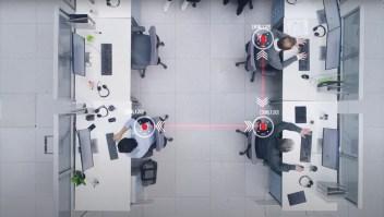 Sensores para el distanciamiento físico en el trabajo