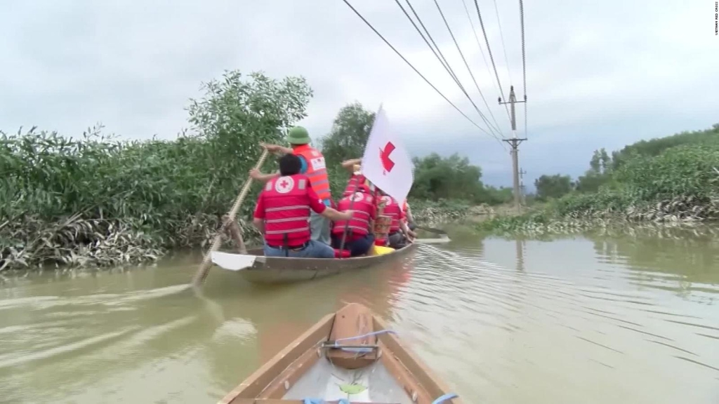 Devastadoras inundaciones en Vietnam