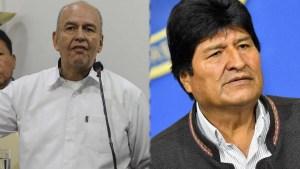 La batalla política en Bolivia es entre Morales y Murillo