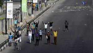 Disturbios por manifestaciones en Nigeria dejan 56 muertos