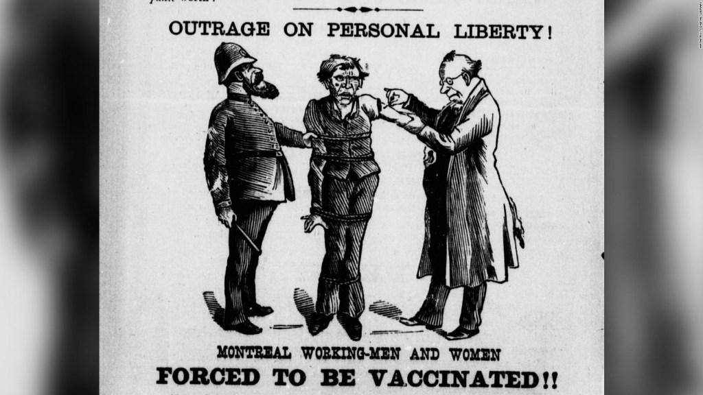 Mira un repaso histórico por argumentos contra vacunas