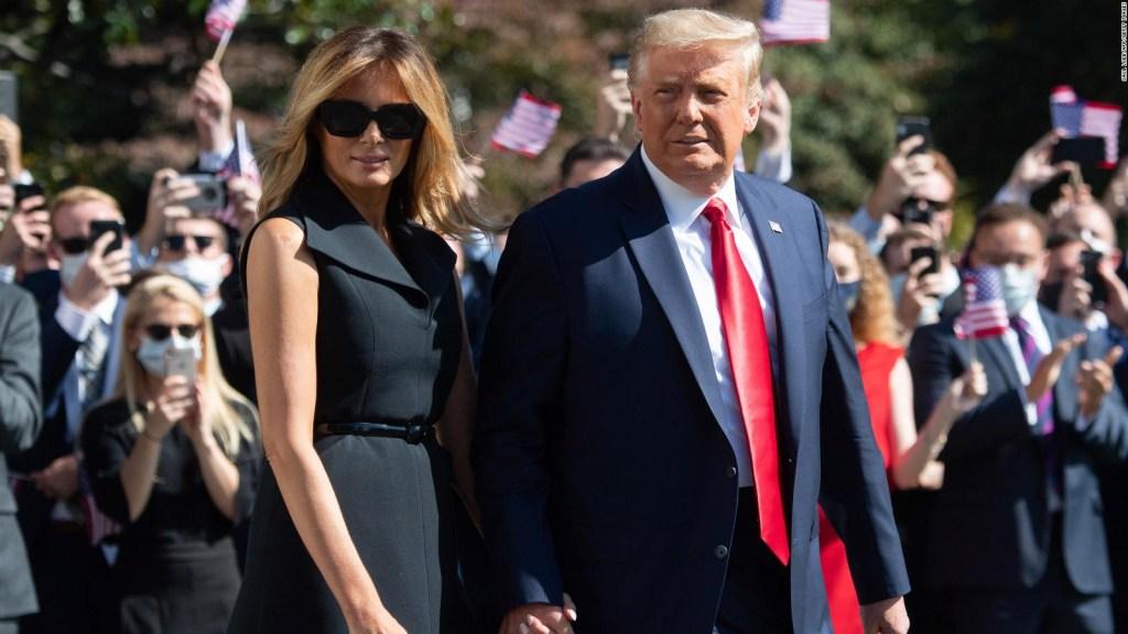 Donald y Melania Trump, a la carga contra los demócratas