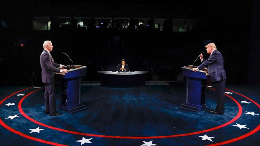 Último debate entre Trump y Biden fue más civilizado