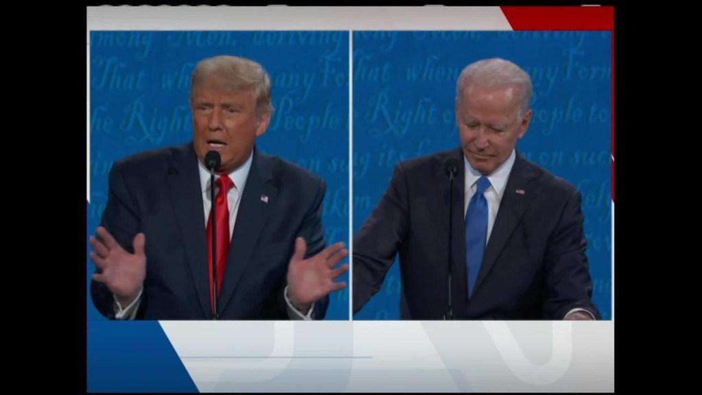 """Trump: """"Soy la persona menos racista de esta sala"""""""