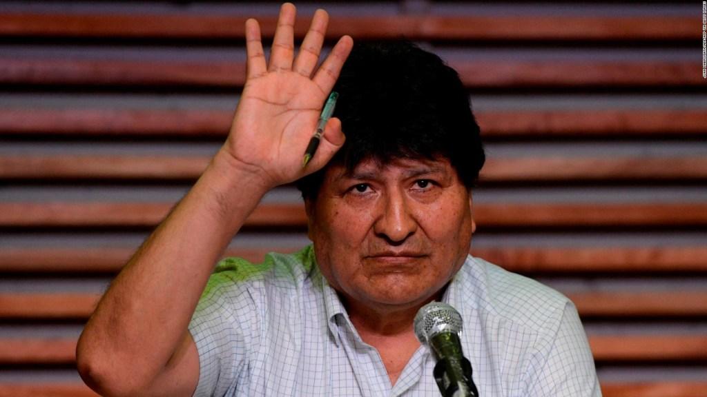 Luis Almagro: Evo Morales huyó de Bolivia