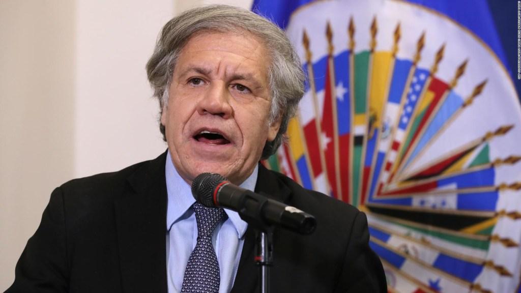 """Luis Almagro: """"Evo Morales y yo sabemos la verdad"""""""