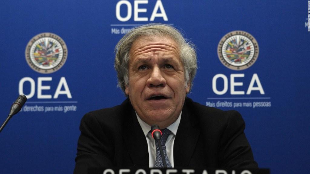 ¿Considera Almagro legítimo el gobierno Ortega-Murillo?