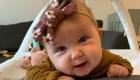Bebé recibe gratis costoso tratamiento para salvarle la vida