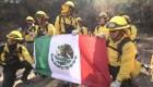 Así ayudaron bomberos mexicanos contra incendios en California