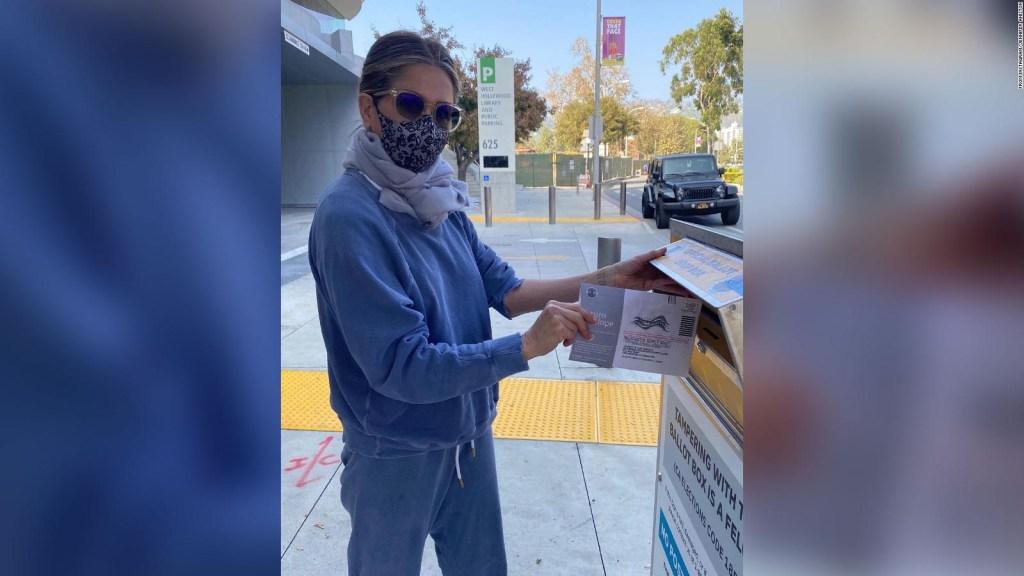 Estrellas de Hollywood votan en las elecciones