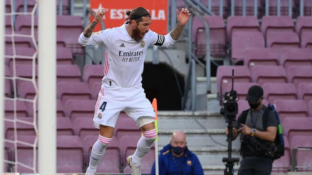 Sergio Ramos, capitán y figura del Real Madrid