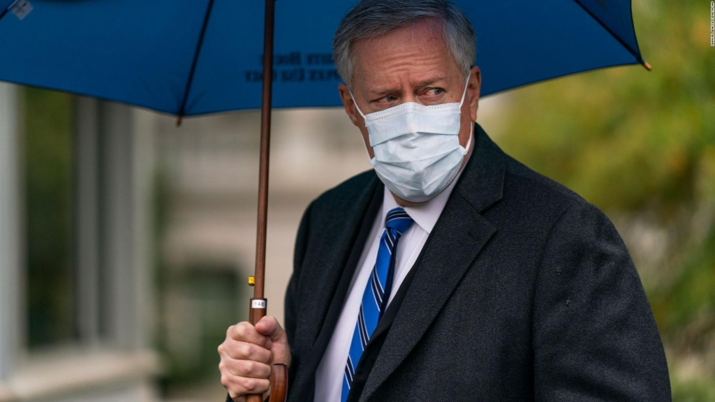 """No vamos a controlar la pandemia"", dice Mark Meadows"