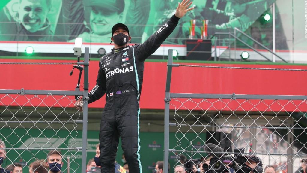 "Lewis Hamilton: ""Hoy pienso en Michael Schumacher"""