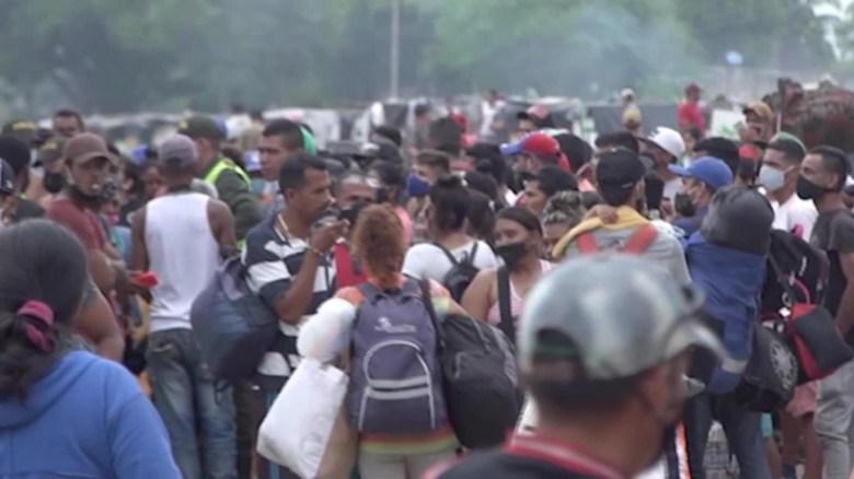 El covid-19 trae de vuelta a migrantes venezolanos
