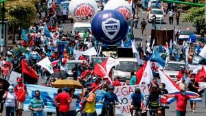 Campbell habla sobre las manifestaciones en Costa Rica