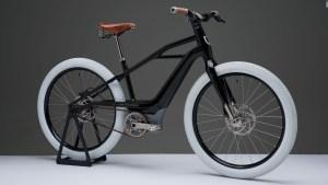 Mira la bicicleta eléctrica de Harley Davidson