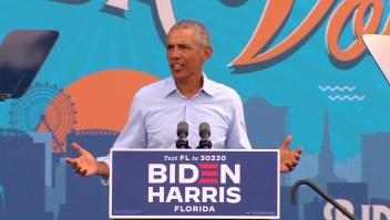 Obama busca conquistar el estado de Florida para Biden