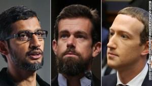 Grandes tecnológicas, bajo escrutinio del Senado de EE.UU.