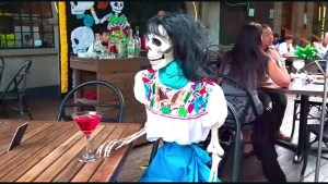 La muerte 'acompaña' a clientes de restaurante en México