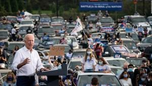 Biden lidera en estados clave y 74 millones votaron anticipadamente