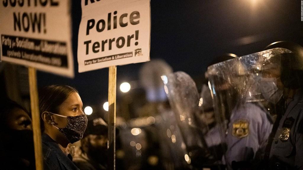 Filadelfia bajo toque de queda por protestas violentas