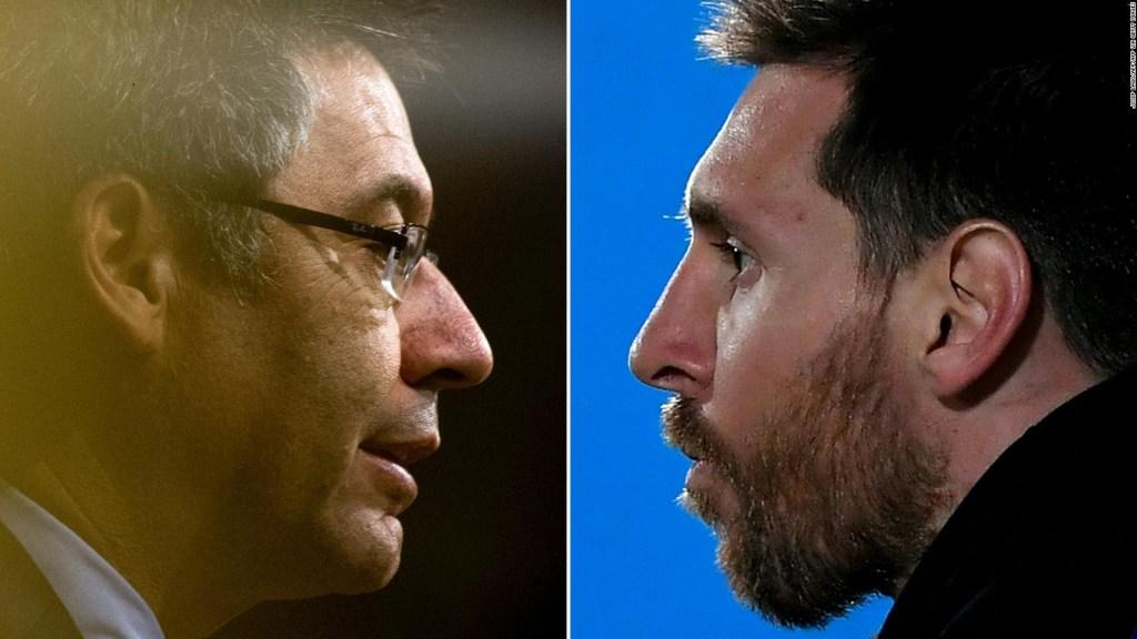 El futuro de Messi tras la renuncia de Bartomeu