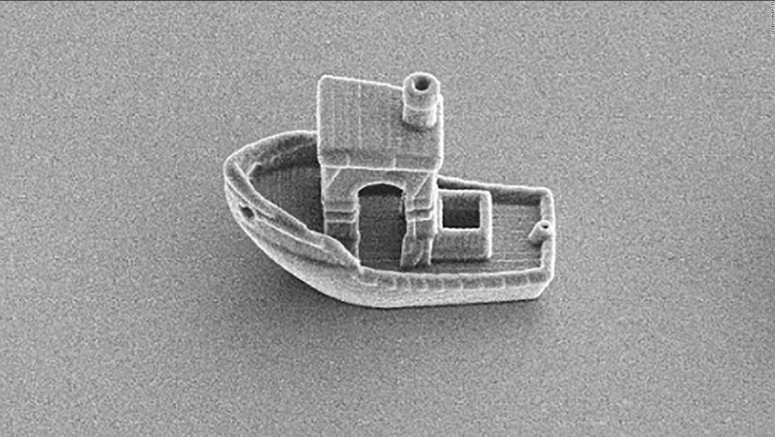 Este es el barco más pequeño del mundo