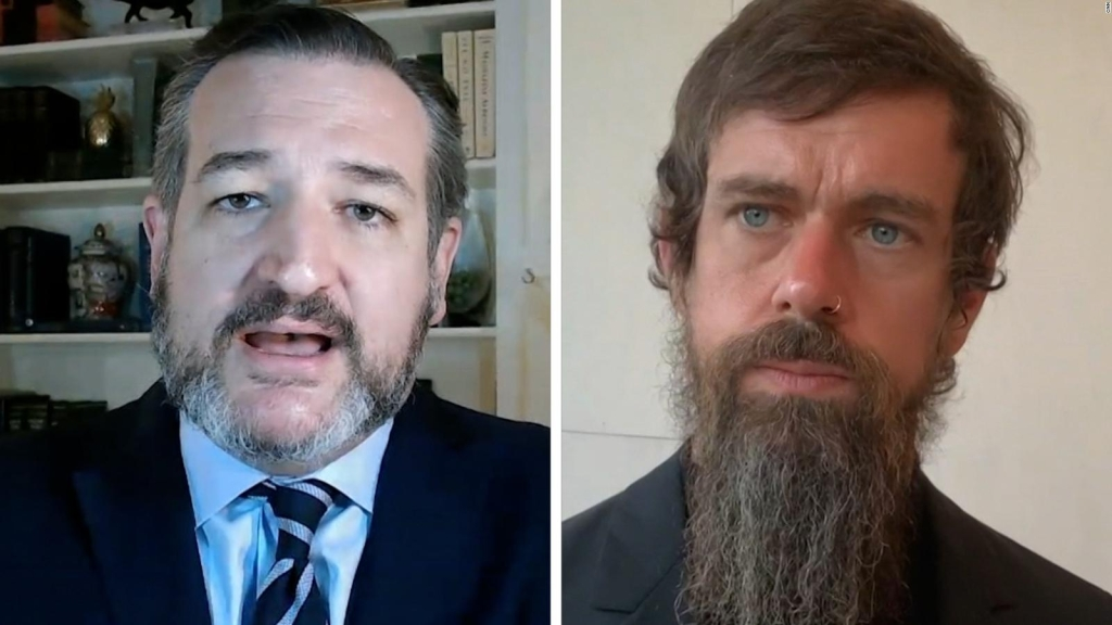 Ted Cruz attacks Jack Dorsey, director of Twitter