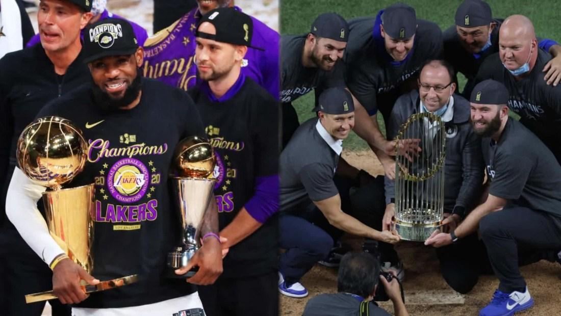 LeBron James quiere desfile para los Dodgers y los Lakers