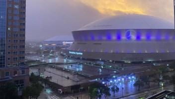 Así pasó Zeta por Nueva Orleans