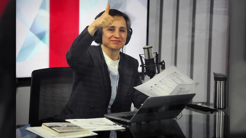 Carmen Aristegui celebra sus 15 años en CNN